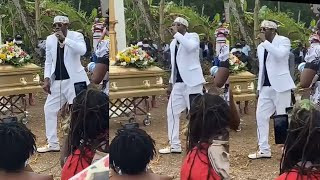Shabba  Ranks Pays Tribute  At His Mother's Fvneral,