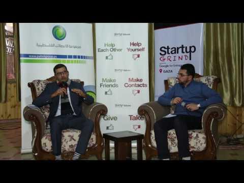 Mohammed Haboush (PITA) at Startup Grind Gaza