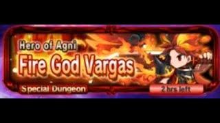 Brave Frontier (Heroes Challenge) - Hero Of Agni (Fire God Vargas)