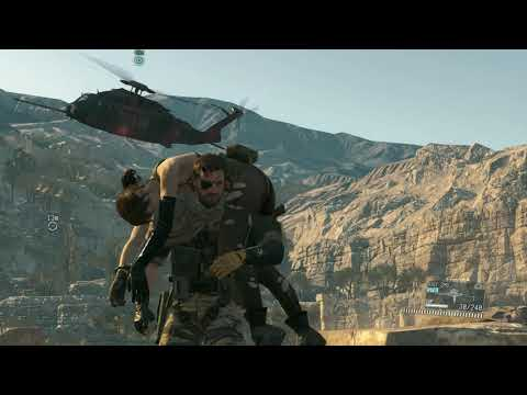 Metal Gear Solid V: The Phantom Pain - Gameplay -  Episode 11 - Cloaked In Silence - S Rank  
