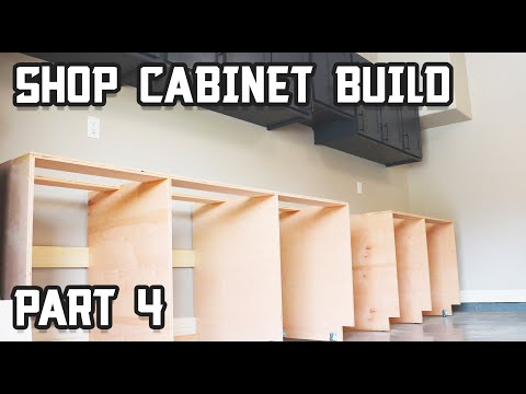 How to Build Ultimate Shop Cabinets - Part 4!