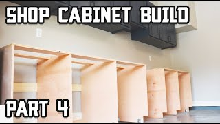 Ultimate Shop Cabinet Build (Lowers) // Part 4