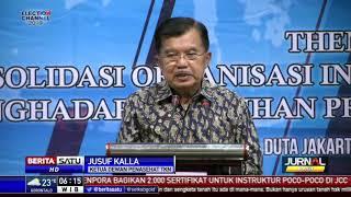 Jusuf Kalla: Jokowi Sangat Demokratis