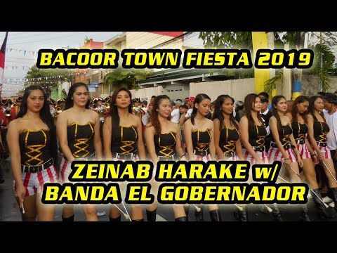 Bacoor City Town Fiesta 2019 - EL GOBERNADOR BAND with Zeinab Harake FULL HD