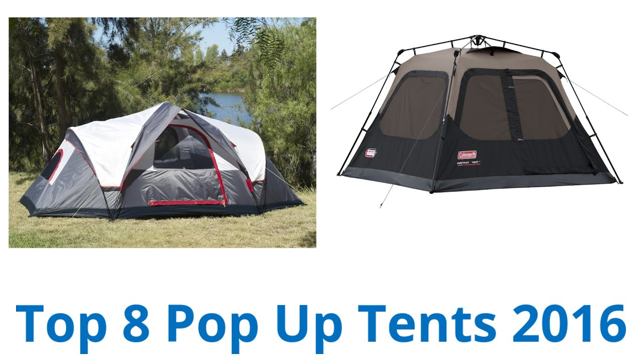 sc 1 st  YouTube & 8 Best Pop Up Tents 2016 - YouTube
