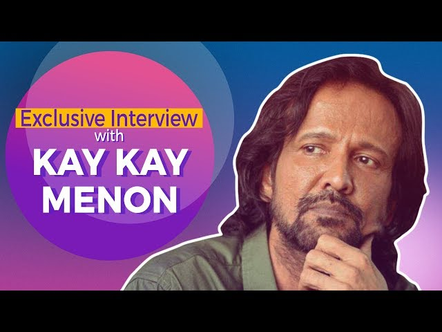 Kay Kay Menon on Neeraj Pandey   He gave me enough Freedom to Experiment with my part