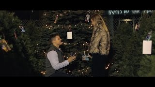 Video THE BEST WEDDING PROPOSAL EVER!! Christmas Tree Lot Surprise Engagement! Scott + Kendall download MP3, 3GP, MP4, WEBM, AVI, FLV November 2017