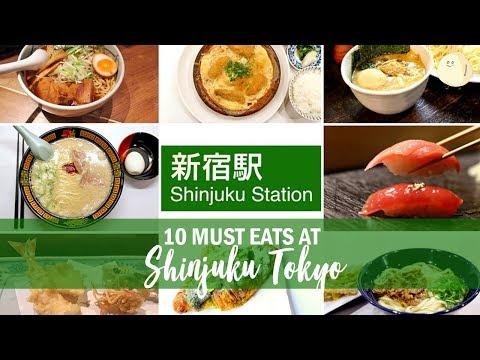 10 Must Eats At Shinjuku Tokyo 新宿 - Favourite Restaurants & Cafes In Shinjuku