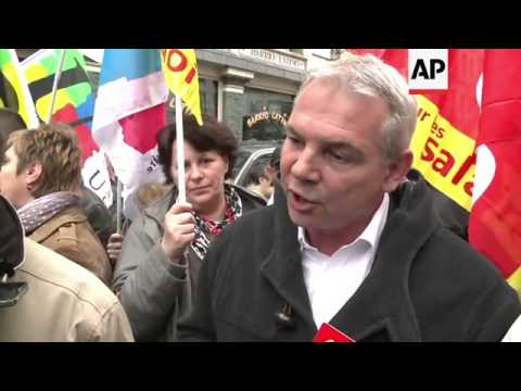 May Day rallies in France and Portugal