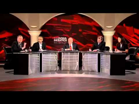 "Doha Debate : "" Education pointless without free speech ""  Part 3"