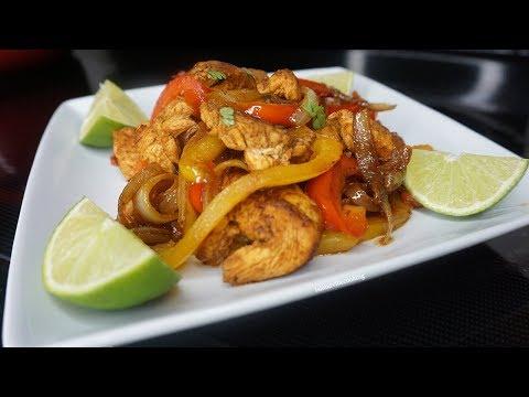 Super Quick & Easy Chicken Fajita Recipe *Keto Friendly*