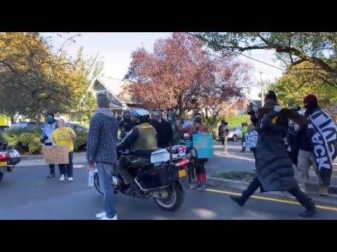 Day 132 Of Circus Portland And BLM Protests With Predominantly White Activists