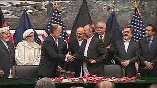 Военные США останутся в Афганистане дольше всех