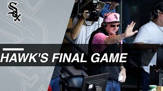 Hawk Harrelson says goodbye with final game