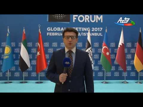 Ahmad Akbarov World Tourism Forum Istanbul