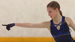 Майя Хромых Короткая программа Женщины Кубок России по фигурному катанию 2020 21