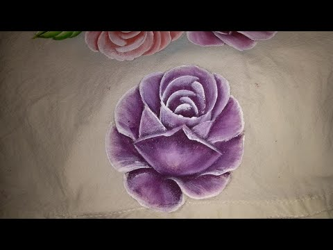 Como Pintar Rosa Fácil Youtube