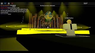 Roblox| The Honeymoon Tour (Special Sweetener) 18-8-18 Full Act 3 (Part 1)