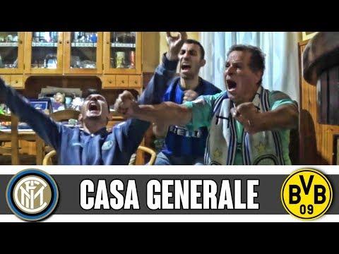 LIVE REACTION INTER-BORUSSIA DORTMUND 2-0 a Casa Generale