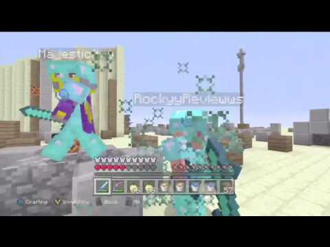 "Minecraft PvP Montage ""Can't Hold Us"" [Xbox One]"