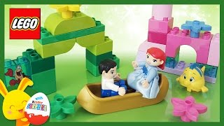 Ariel, la petite sirène Disney - LEGO Duplo jouet - La princesse Ariel et son prince - titounis