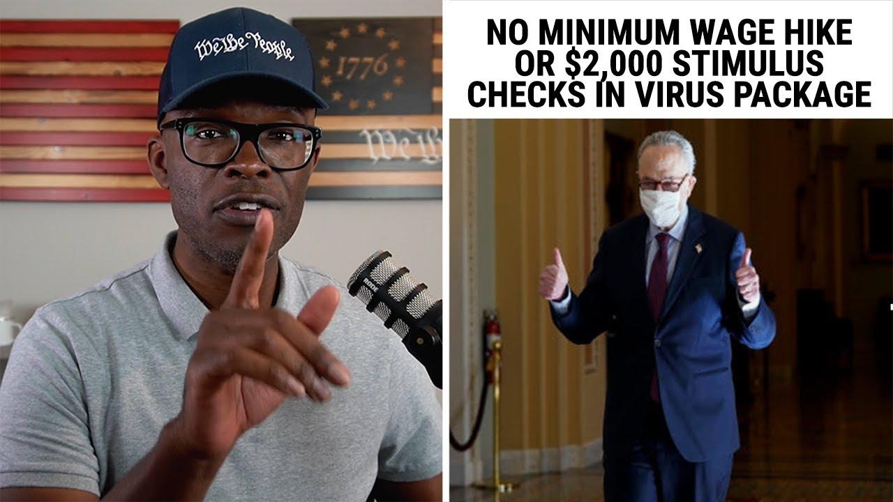 Virus Package Passes WITHOUT $15 Minimum Wage or $2,000 Stimulus!