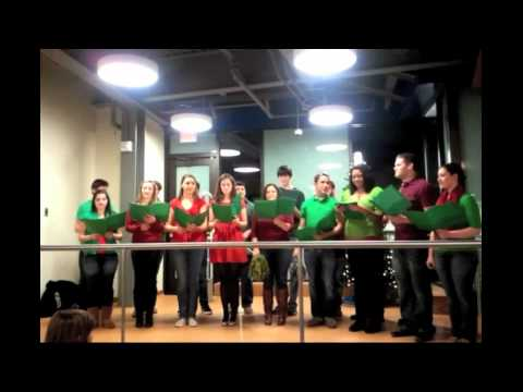 Vocal Point Sings 'The 12 Days of Christmas' at the UD Bookstore