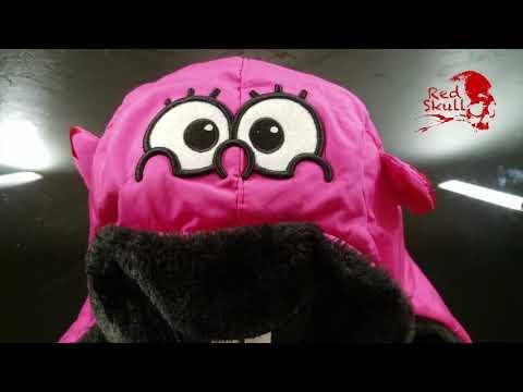Шапка женская теплая с ушами RedSkull Розовая 90000062