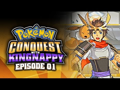 Pokémon Conquest Let's Play w/ TheKingNappy! - Ep 1
