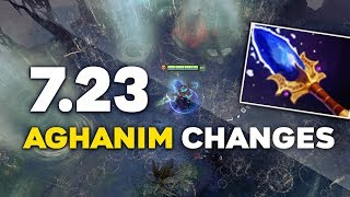 Dota 2 NEW 7.23 PATCH – ALL NEW AGHANIM'S SCEPTERS! (REWORKED + CHANGES)
