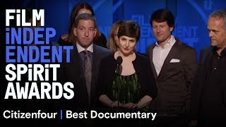 Citizenfour wins Best Documentary at the 30th Film Independent Spirit Awards