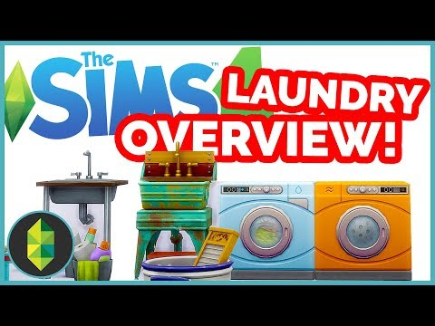 Laundry Day Stuff Overview | The Sims 4