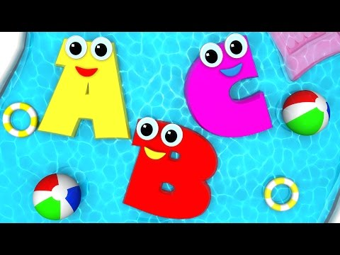 ABCD Swimming Pool Song  Alphabets For Kids  ABC Song