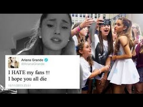 ARIANA GRANDE HATES HER FANS. - YouTube