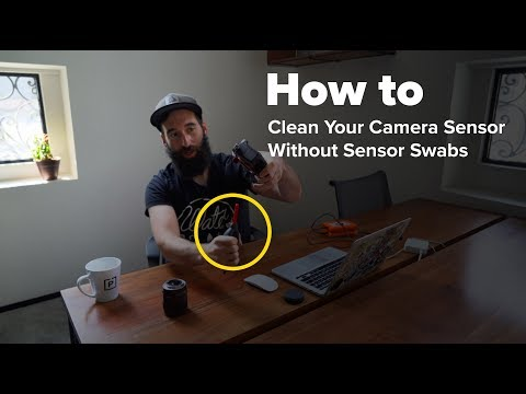 Clean Your Camera Sensor Without Sensor Swabs
