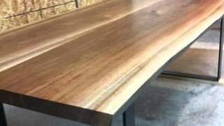 Live Edge Table Walnut Live Edge Tables & Wood Slab Furnitur