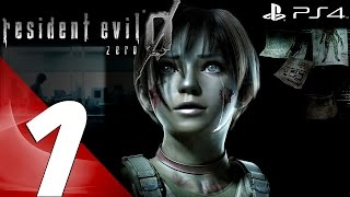 Resident Evil Zero HD Remaster (PS4) - Walkthrough Part 1 - Prologue