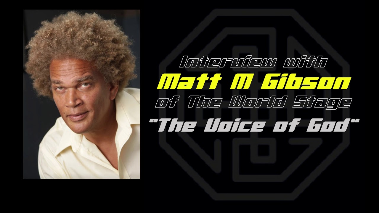 "Matt M Gibson ""The Voice of God"" Voice Over Artist Interview - The World Stage 2020 - YouTube"