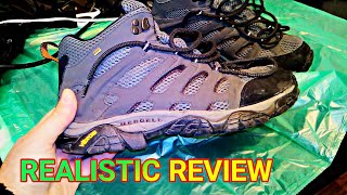 Merrel MOAB 2 Mid GTX HEAVY USE REVIEW (6 month, daily use)