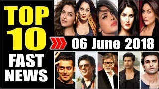 Latest Entertainment News From Bollywood | 06 June 2018