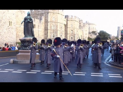 Changing the Guard at Windsor Castle - Saturday the 10th of November 2018