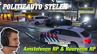 POLITIEAUTO GESTOLEN - Roleplay Roerveen & Amstelveen   Random joinen   GTA 5   Jan-Willem