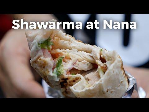 Chicken Shawarma at Nana in Bangkok