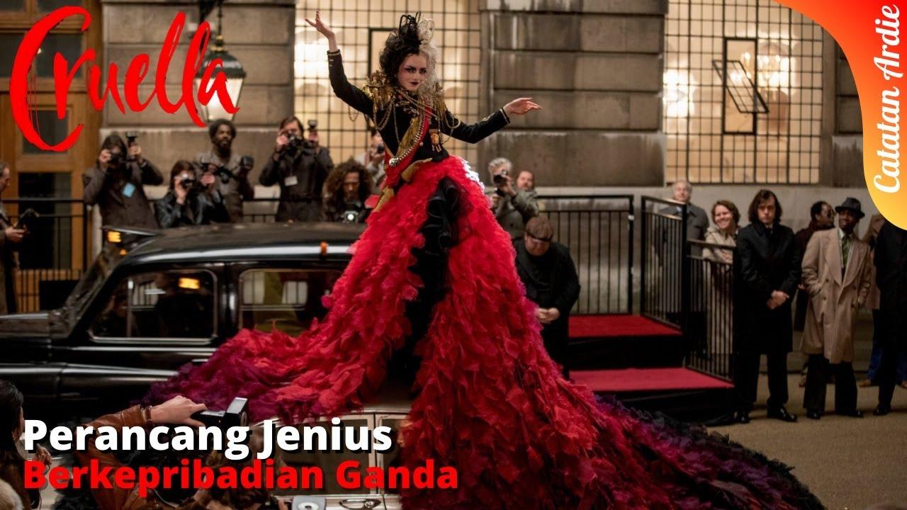 PERANCANG JENIUS DENGAN KEPRIBADIAN GANDA || RANGKUM ALUR CERITA FILM CRUELLA (2021)