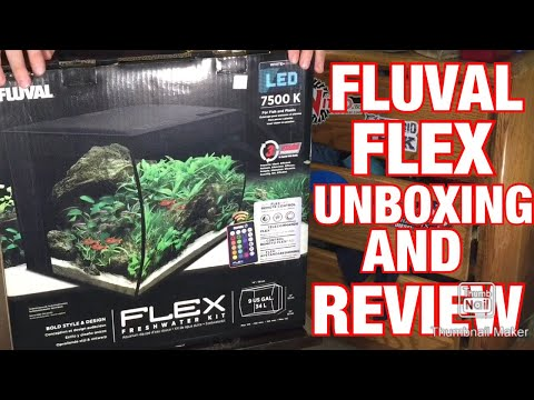 Fluval Flex 9 Gallon: Unboxing And Review