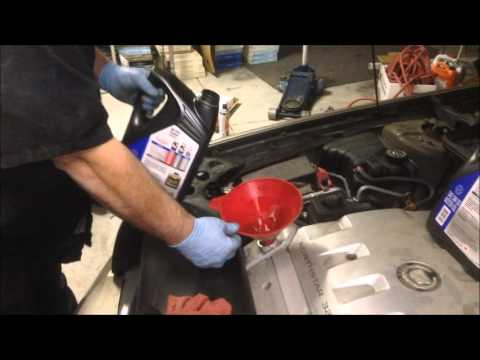 Cadillac Deville 4.6 L Northstar Engine Oil Change - YouTube