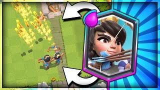 NEW TOP 3 PRINCESS DECKS!! How to use the Princess!! Arena 8 - 10! Clash Royale Best Princess Deck?