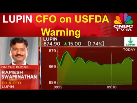 USFDA Warning | Lupin Sees Marginal Impact on Earnings; Resolution to Take 12-15 Mths | CNBC TV18