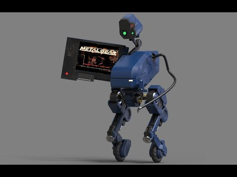 Metal Gear 4 Robo MKII