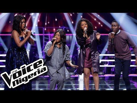 "Tara & Bella vs Victor vs Sandra - ""Ain't No Mountain High Enough"" / The Battles / The Voice Nigeria"